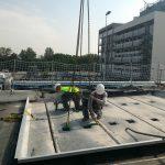 chantier toit