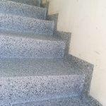escalier résine alsace