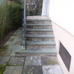 escalier maison abîmé