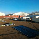 toiture rénovation chantier