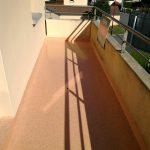 Balcon travaux faits